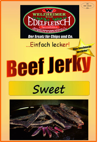 500gr Biltong Beef Jerky Sweet and Sour
