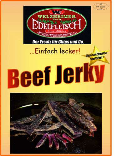 1300 Gramm Beef Jerky Biltong Geschnitten 13 Sorten Collection